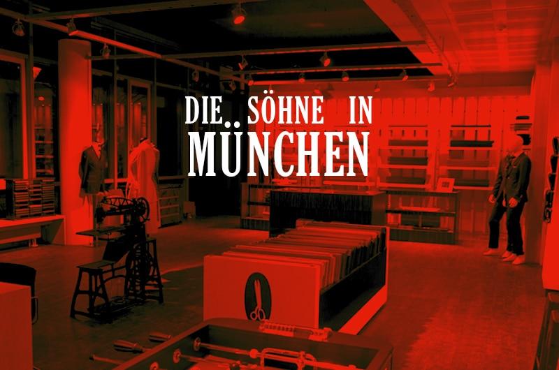 München hat nun auch einen SONS Shop