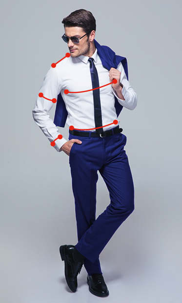 maßgeschneidertes Hemd der Tailormade Line